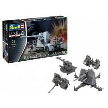 Revell 03325 - 8,8 cm Flak 37 + Sd.Anh.202 1/172