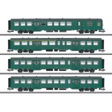 Marklin 43546 - SNCB 4-tlg. Personenwagen-Set M2