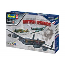 Revell 05696 - 100 Years RAF: British Legends 1/72