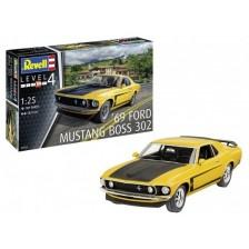 Revell 07025 - 1969 Boss 302 Mustang 1/25