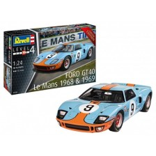 Revell 07696 - Ford GT 40 Le Mans 1968 1/24