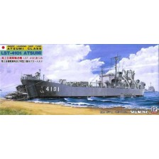 Pit-Road J18 - JMSDF Landing Ship Tank Atsumi Class LST-4101 Atsumi 1/700