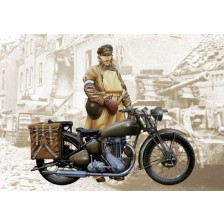 Italeri 7402 - Triumph 3WH WWII Motorcycle 1/9