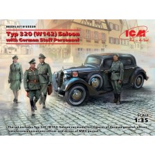 ICM 35539 - Typ 320 (W142) Saloon with German Staff Personnel 1/35