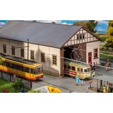 Faller 120289 - Tram depot Naumburg