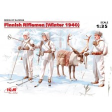 ICM 35566 - Finnish Riflemen (Winter 1940) (4 figures) 1/35