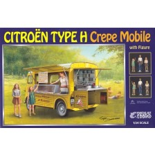 Ebbro 25013 - Citroën Type H Crepe Mobile with Figure 1/24