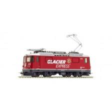 "Bemo 1358183 - RhB Elektrolokomotive Ge 4/4 II 623 ""Glacier Express"" mit Kurvensound"