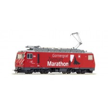 "BEMO 1262294 - MBG Elektrolokomotive HGe 4/4 104 ""Gornergrat Zermatt Marathon"""