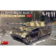 MiniArt 35344 - Pz/Beob.Wg.IV Ausf. J Late/Last Prod. 2 in 1 w/Crew 1/35