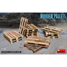 MiniArt 35627 - Wooden Pallets 1/35