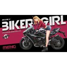 Meng SPS-074 - Biker Girl 1/9