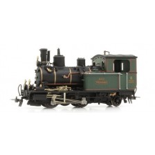 "Bemo 1292596 - DFB Schmalspur-Tenderlokomotive HG 2/3 6 ""Weisshorn"" - Metal Collection"