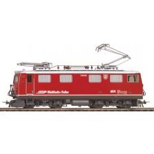 "Bemo 1352127 - RhB Universallokomotive Ge 4/4 I 607 ""Surselva"" rot mit Kurvensound"