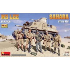 MiniArt 35274 - M3 Lee Mid Prod. Sahara with Crew 1/35