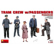 MiniArt 38007 - Tram Crew with Passenger 1/35