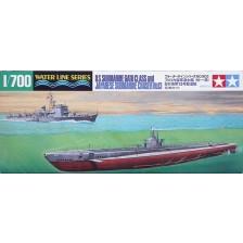 Tamiya 31903 - U.S. Submarine Gato Class & Japanese Submarine Chaser No.13 1/700