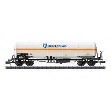 Trix 15821 - DB-AG Druckgaskesselwagen Drachen-Propangas GmbH