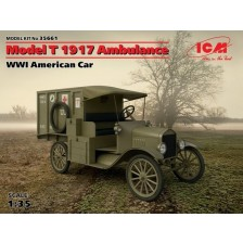 ICM 35661 - Model T 1917 Ambulance, WWI American Car 1/35