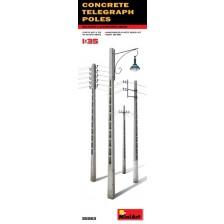 MiniArt 35563 - Concrete Telegraph Poles 1/35
