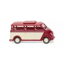 Wiking 33405 -  DKW Schnelllaster Bus - rubinrot/elfenbein