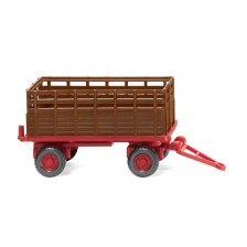 Wiking 038404 - Landwirtschaftlicher Anhänger rehbraun