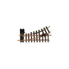 LGB 12100 - Handwissel links, R1, 30°