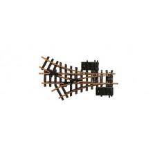 LGB 12360 - Elektrisch driewegwissel, R1, 30°