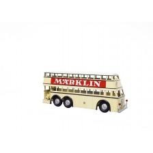 """Marklin 18080 - Dubbeldeksbus met reclameopschrift """"Märklin"""" - Insider"""