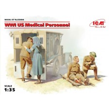 ICM 35694 - WWI US Medical Personnel 1/35