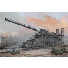 HobbyBoss 82911 - German IIWW 800mm K(E) Railway Gun Dora 1/72