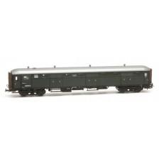 Artitec 20.290.01 - NS Stalen D 6-deurs D7521 groen, zilver dak, Per IIa/IIb