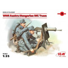 ICM 35697 - WWI Austro-Hungarian MG Team (2 figures) 1/35