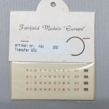 Fairfield 202 - Transfer set GTU