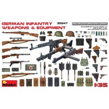MiniArt 35247 - German Infantry Weapons & Equipment 1/35