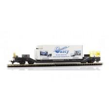 "Bemo 2289115 - RhB Containerwagen Sbk-v 7705 ""Casty"""