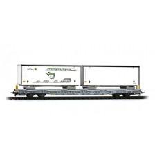 Bemo 2291169 - RhB ACTS-Tragwagen R-w 8379
