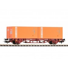 """Piko 97061 - FS Containertragwagen 2x20' Container """"Messina"""""""