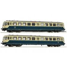 Roco 72082 - DB Akkutriebwagen Baureihe 515 mit Steuerwagen Baureihe 815 (DC)