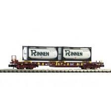 """Fleischmann 825054 - AAE Taschenwagen Bauart T3 """"Rinnen"""""""