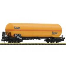 """Fleischmann 849106 - DSB Druckgaskesselwagen """"KOSAN"""" Gattung Zags"""