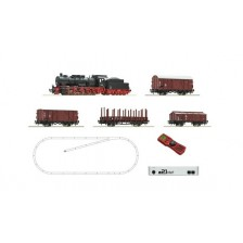 Roco 51318 - z21 start Digitalset: Dampflokomotive BR 057 mit Güterzug, DB