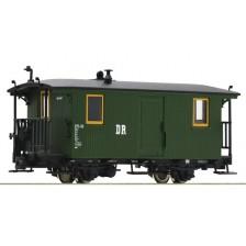 Roco 34048 - DR Zweiachsiger Schmalspur-Gepäckwagen mit Holzaufbau, Gattung KDp