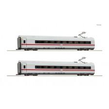 Roco 78096 - DB AG 2-tlg. Set 1: Zwischenwagen ICE-3/BR407 (AC)
