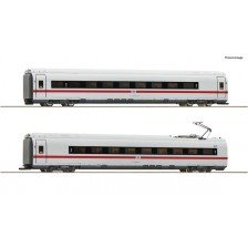 Roco 78097 - DB AG 2-tlg. Set 2: Zwischenwagen ICE-3/BR407 (AC)