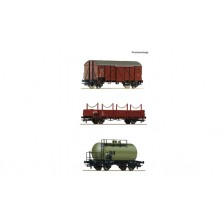 Roco 76018 - CSD 3-tlg. Set: Güterzug