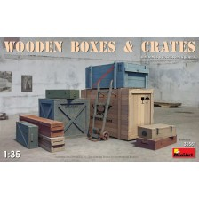 MiniArt 35581 - WOODEN BOXES & CRATES 1/35