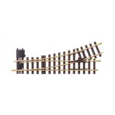 LGB 16140 - Handwissel links R3, 22,5°