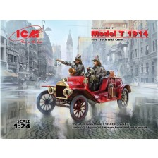 ICM 24017 - Model T 1914 Fire Truck with Crew 1/24