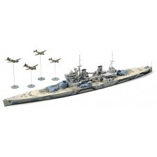 Tamiya 31615 - British Battleship Prince of Wales - Battle of Malaya 1/700